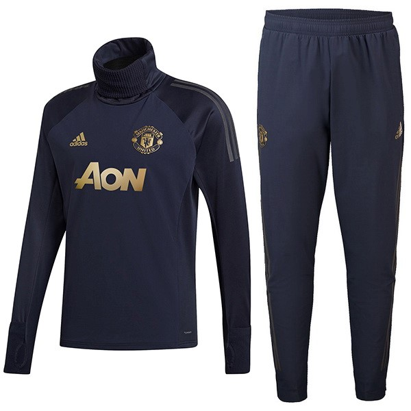 Chandal Manchester United 2018-2019 Azul Oro