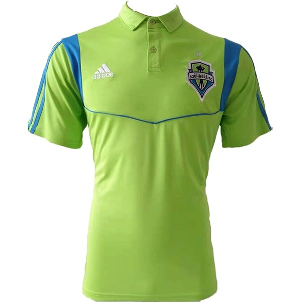 Polo Seattle Sounders 2019-2020 Verde Fluorescente
