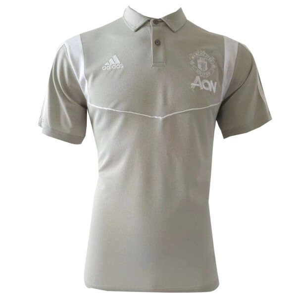 Polo Manchester United 2019-2020 Gris