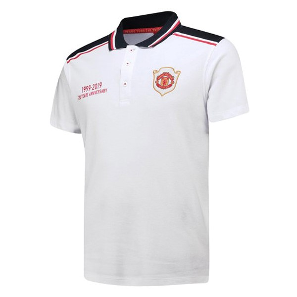 Polo Manchester United 20th Blanco
