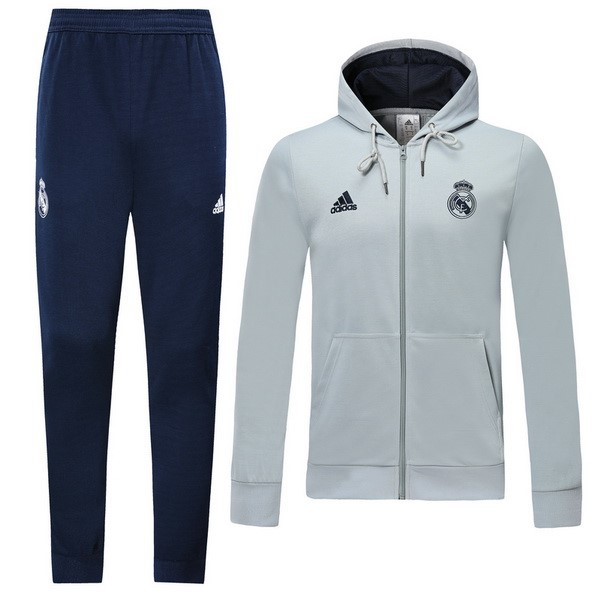 Chandal Real Madrid 2019-2020 Azul Gris