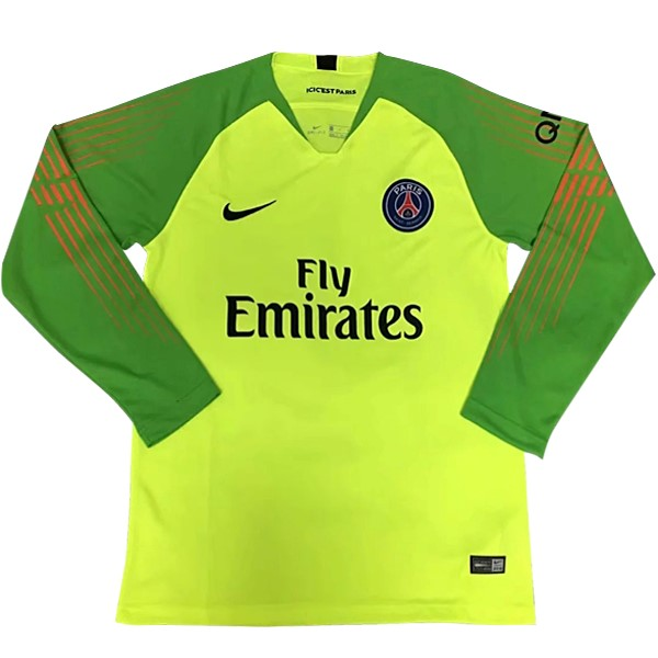 Camiseta Paris Saint Germain ML Portero 2018-2019 Verde